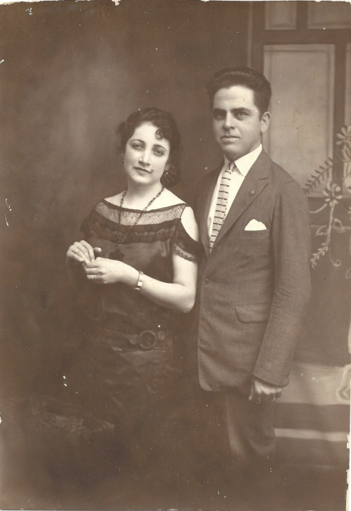 My grandparents, Felipe and Lucy Garcia.