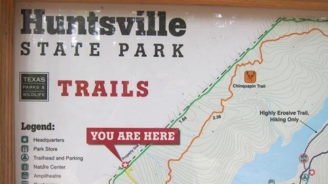 Huntsville SP Map