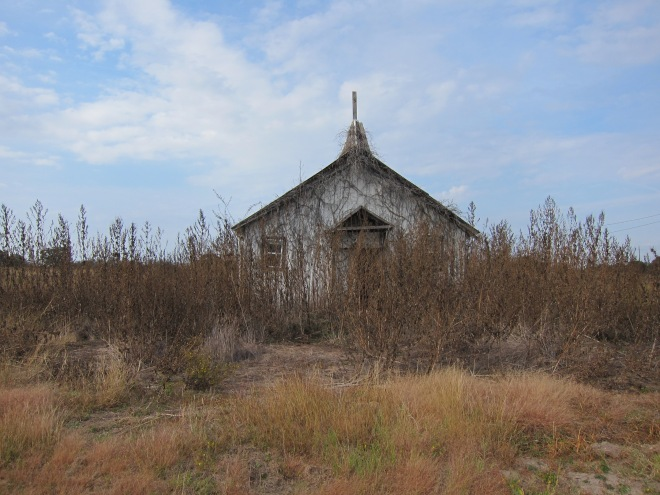 Old Church Building - Muldoon Tx