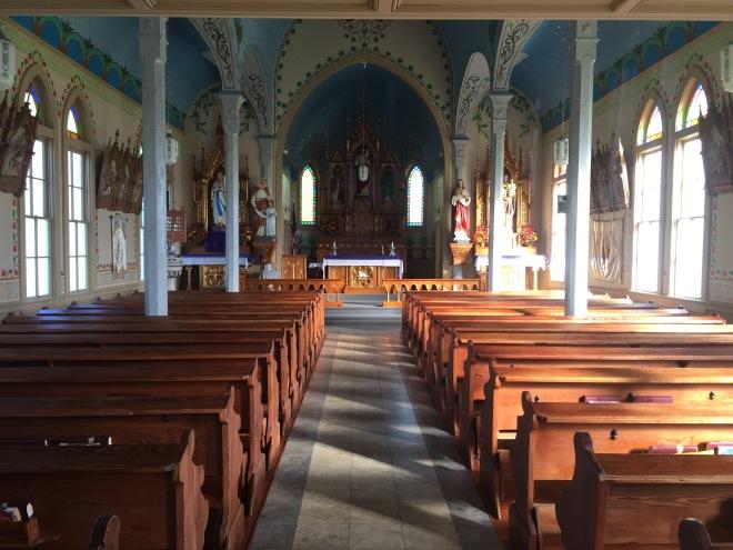 Dubina Church Interior