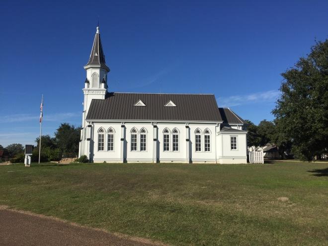 Dubina Church Sideview