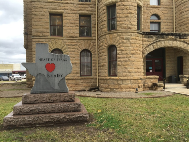 Brady Courthouse Heart of Texas