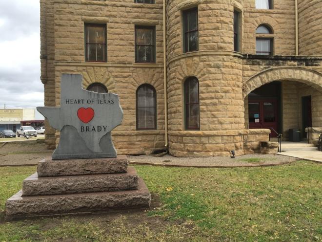 Brady Courthouse Heart of Texas