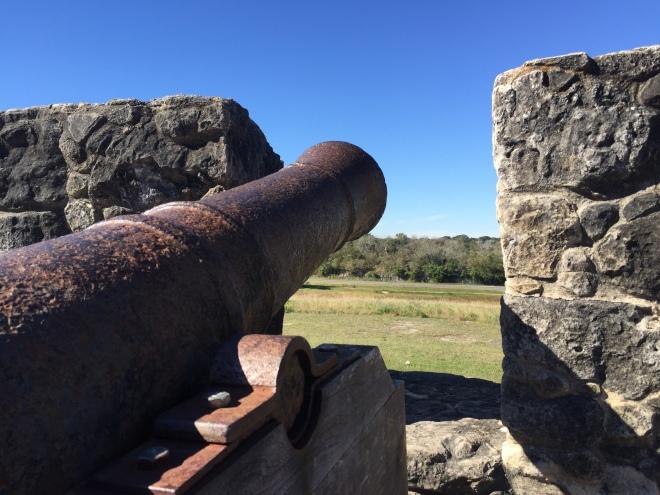 Presidio La Bahia Cannon