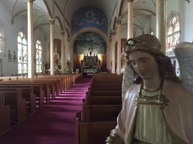 Shiner Church Entry Angel