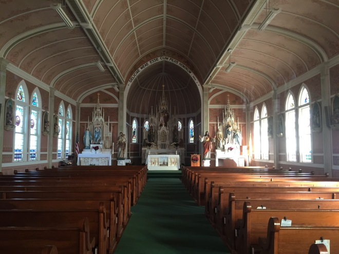 St. John the Baptist Interior View