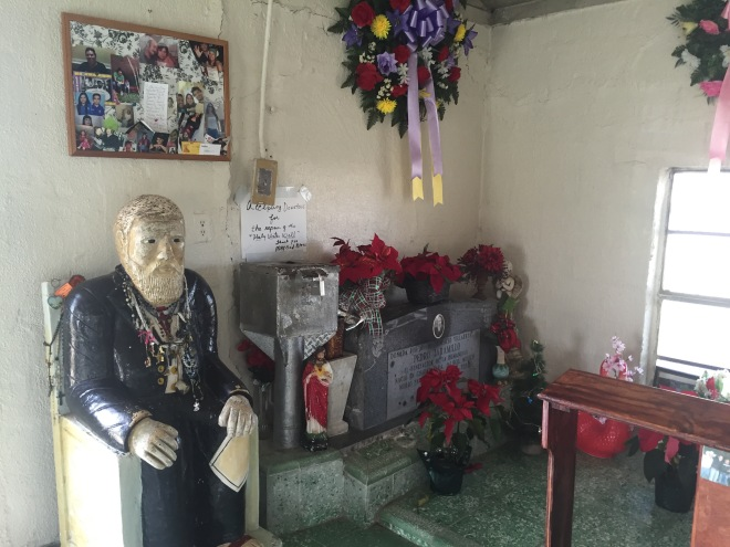 Don Pedrito Shrine Interior