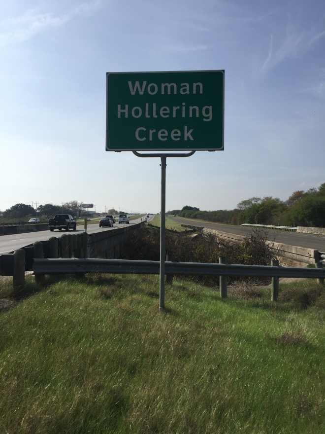 Woman Hollering Creek Sign