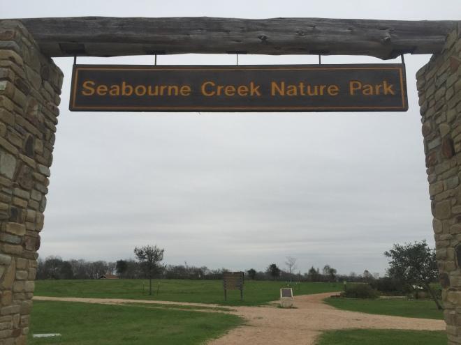 Seabourne Sign