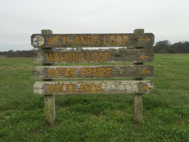 Seabourne Trail Sign