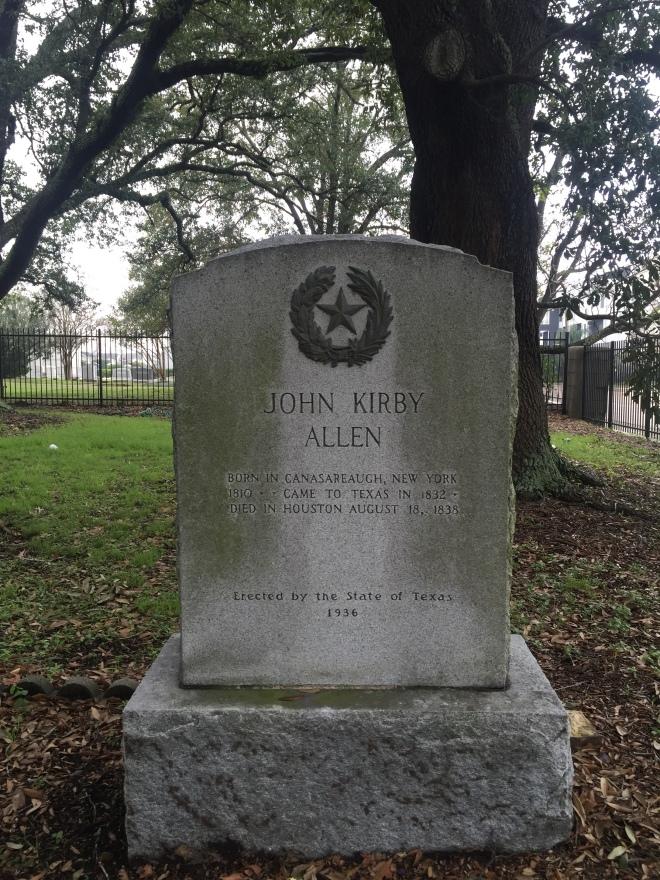 John Kirby Allen Grave