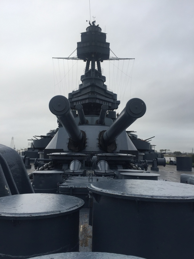 Battleship Texas Guns