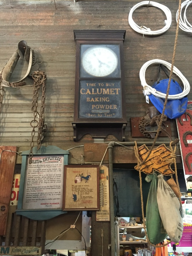 Farmers Mercantile Clock