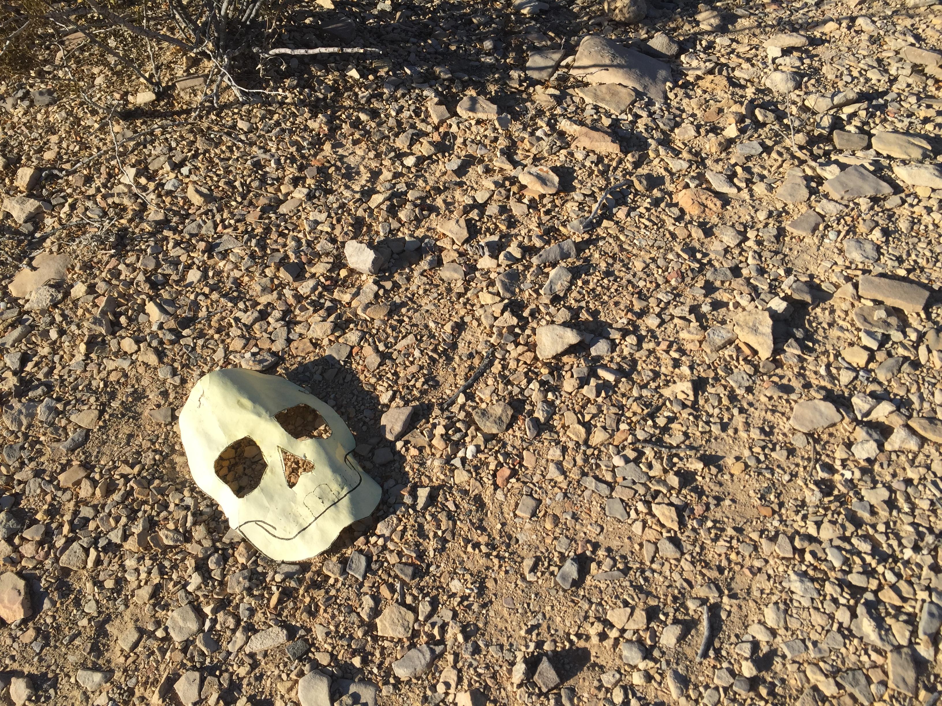 Terlingua Cemetery Mask