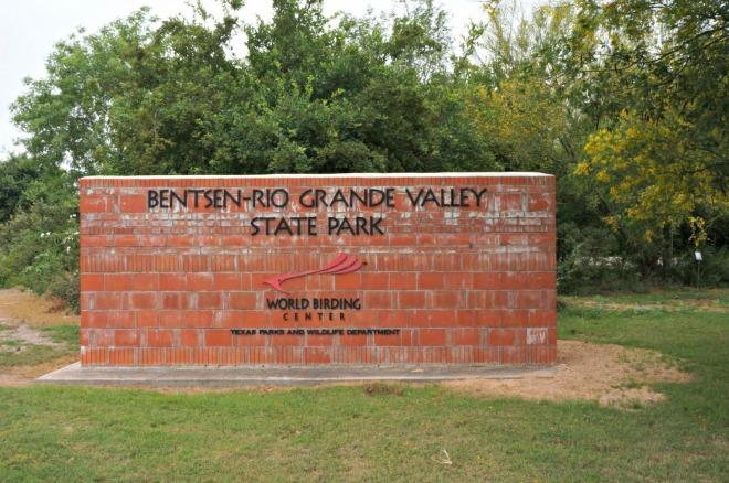 Bentsen State Park Sign