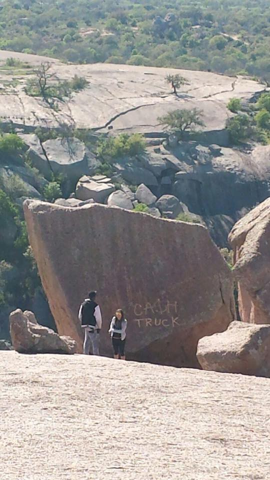 Enchanted Rock Tagged