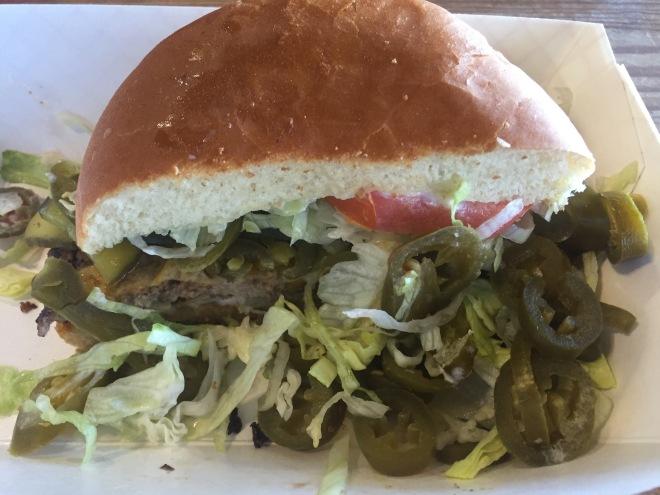 Bobby J's Burger Half