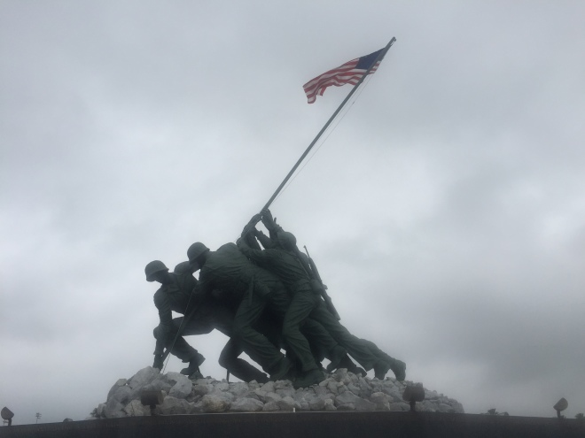 Iwo Jima Monument at MMA