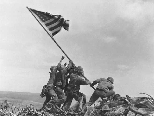 Joe Rosenthal Iwo Jima Pic