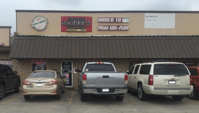 Marco's Burgers Exterior