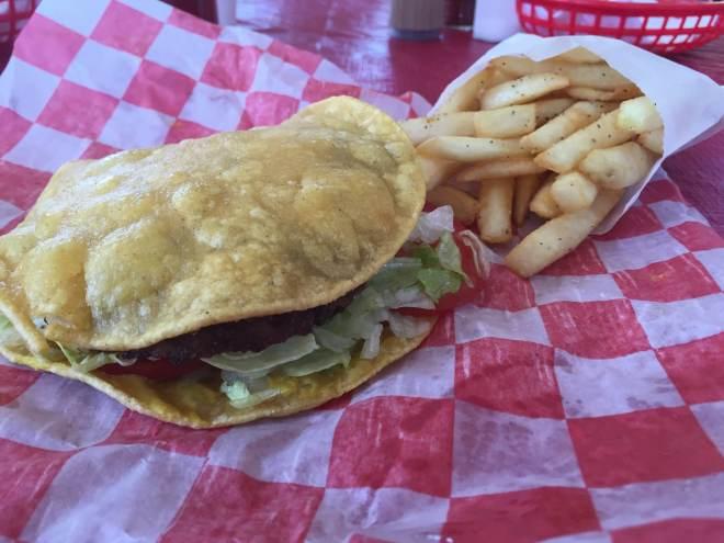 The Frosty Tortilla Burger
