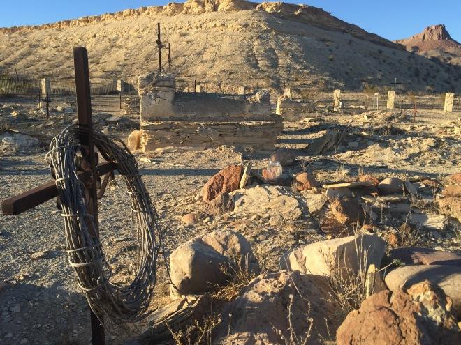Lajitas Cemetery Grave