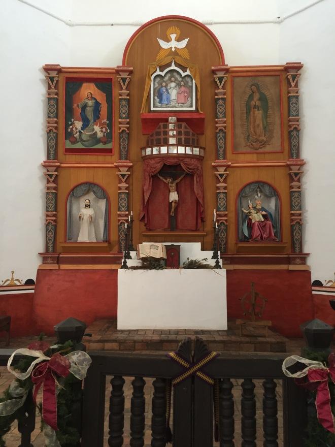 Mission Espiritu Santo Altar