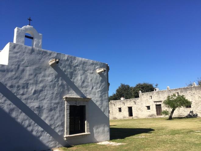 Mission Espiritu Santo Courtyard