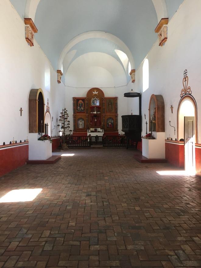 Mission Espiritu Santo Interior