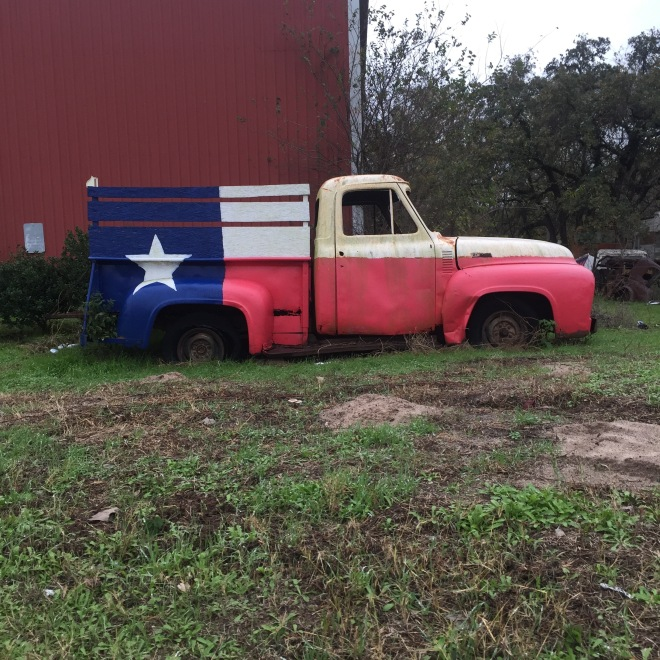 Texas Flag Truck