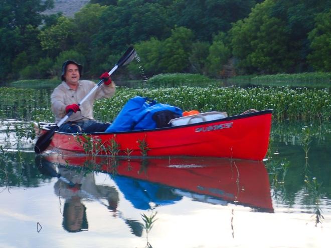 Dougal Paddling Canoe