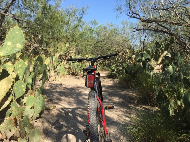 Prickly Pear Bike Path