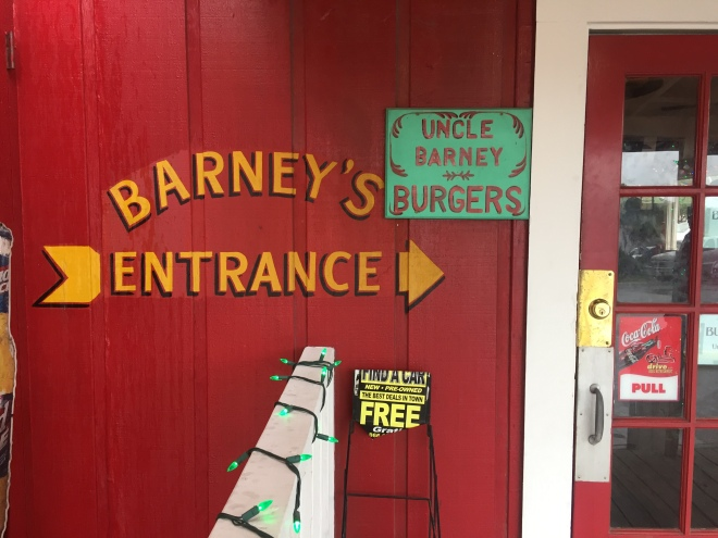 Uncle Barney's Entrance