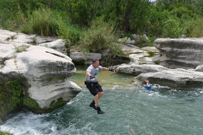James at Dolan Falls