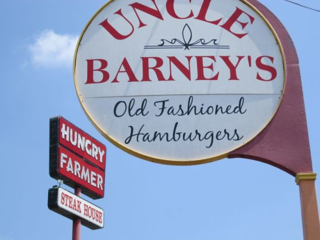 Uncle Barney's Sign
