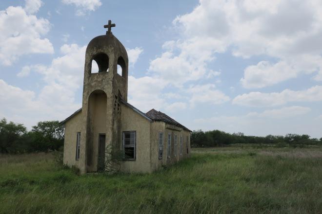 El Torero Church Side View