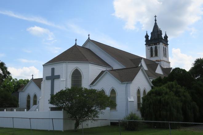 Guardian Angel Church Back