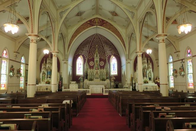 Guardian Angel Church Interior