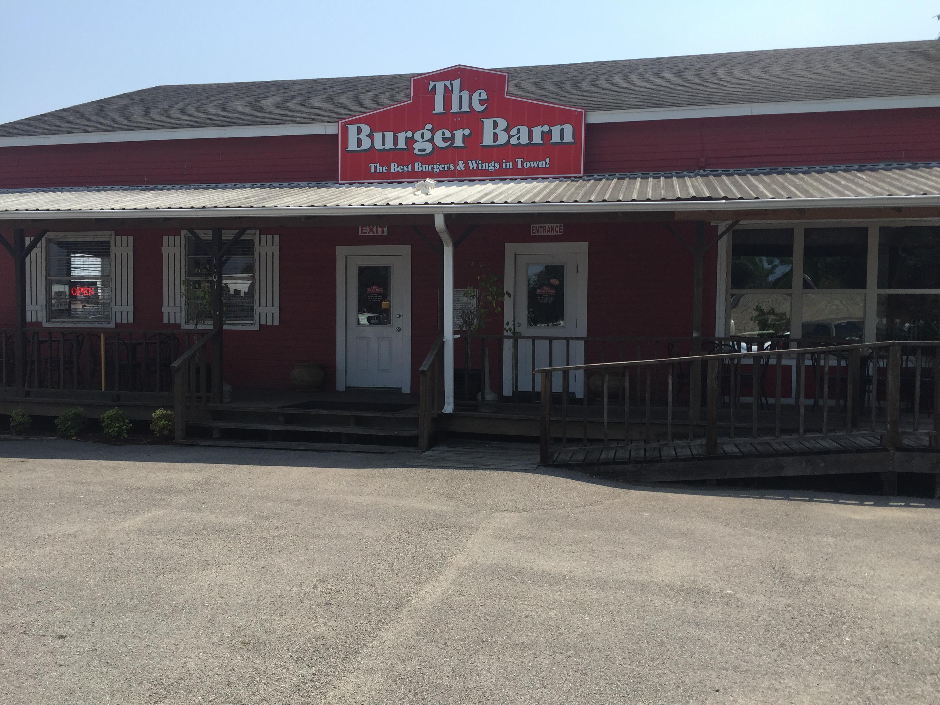 The Burger Barn Explore Texas