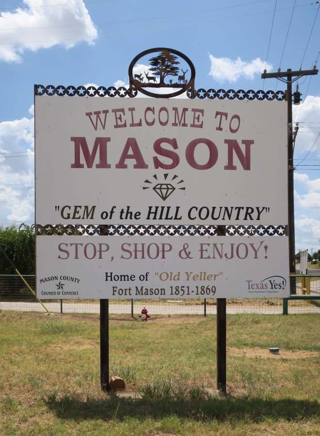 Mason City Sign