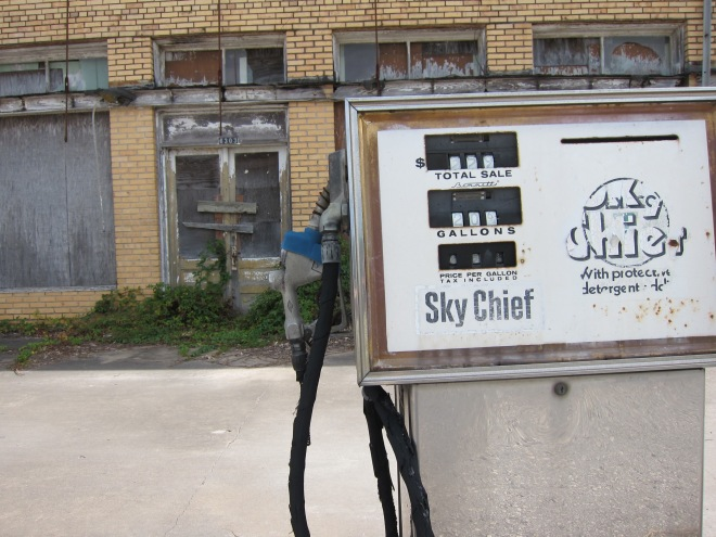 Sky Chief Gas Pump