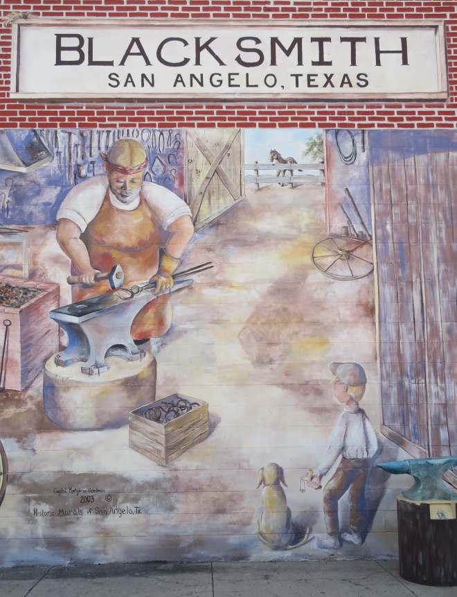 Blacksmith Mural