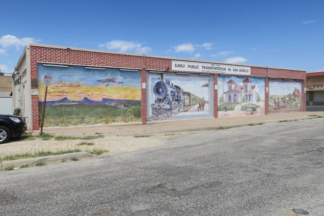 Public Transportation Mural