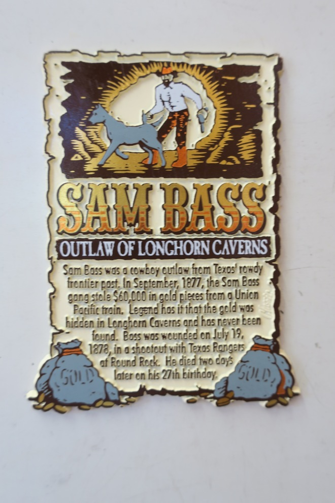 Sam Bass Plaque