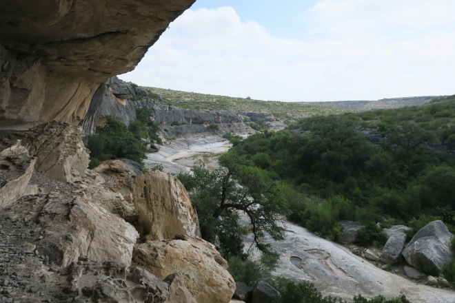 Seminole Canyon Cave View