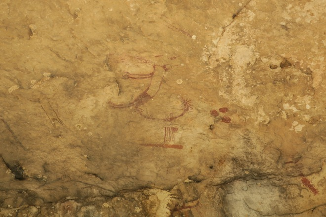 Seminole Canyon Pictograph Ceiling