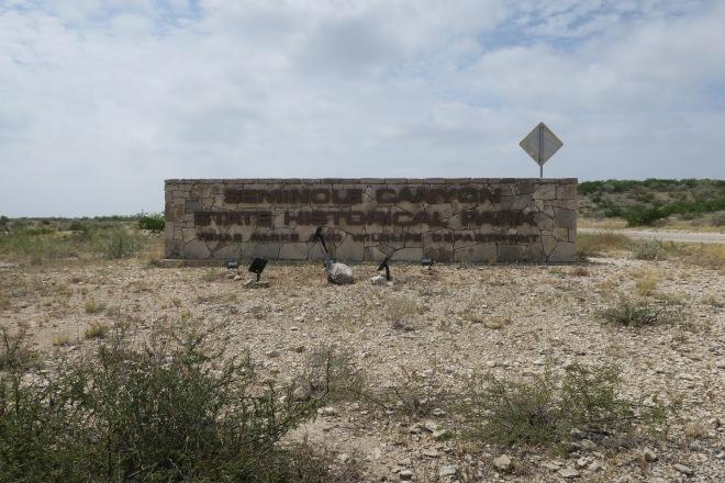 Seminole Entry Sign