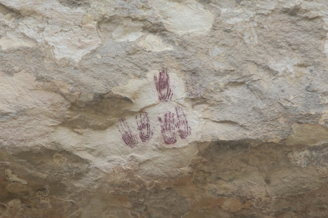 Seminole Pictograph Hands