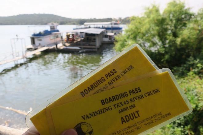 Vanishing Texas Boarding Pass