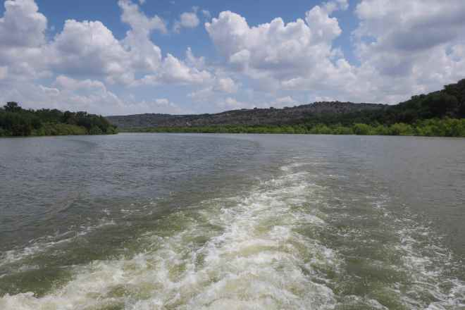 Vanishing Texas Wake